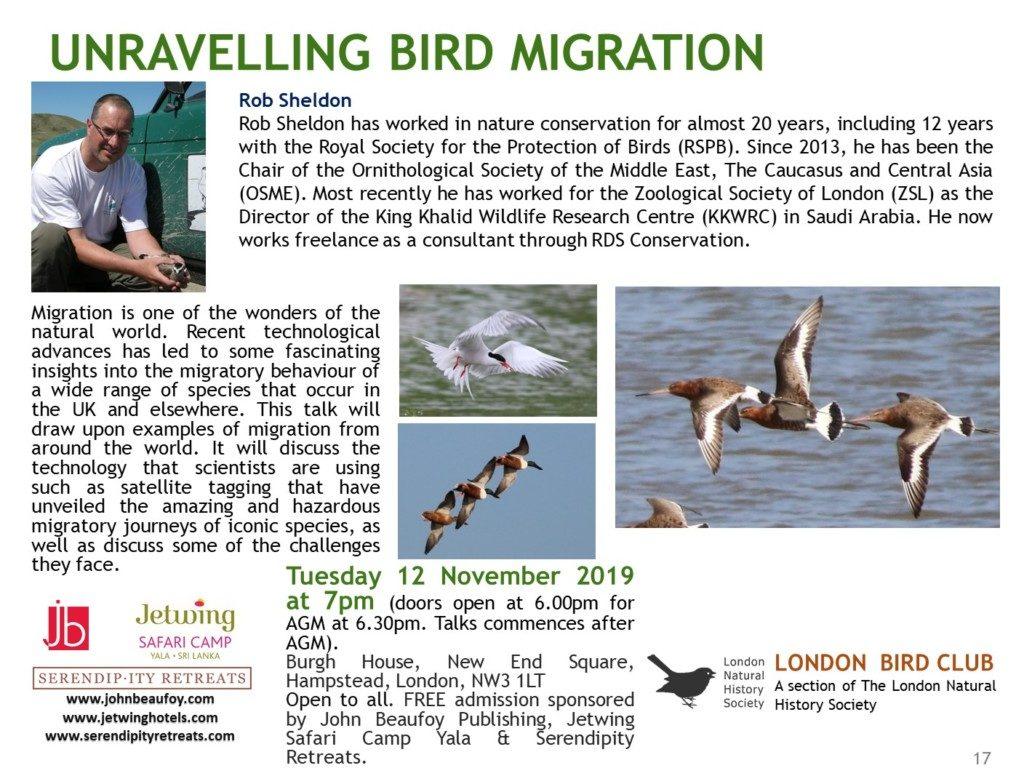 LBC Talk 2019-20 No 3 Rob Sheldon on Migration (1)